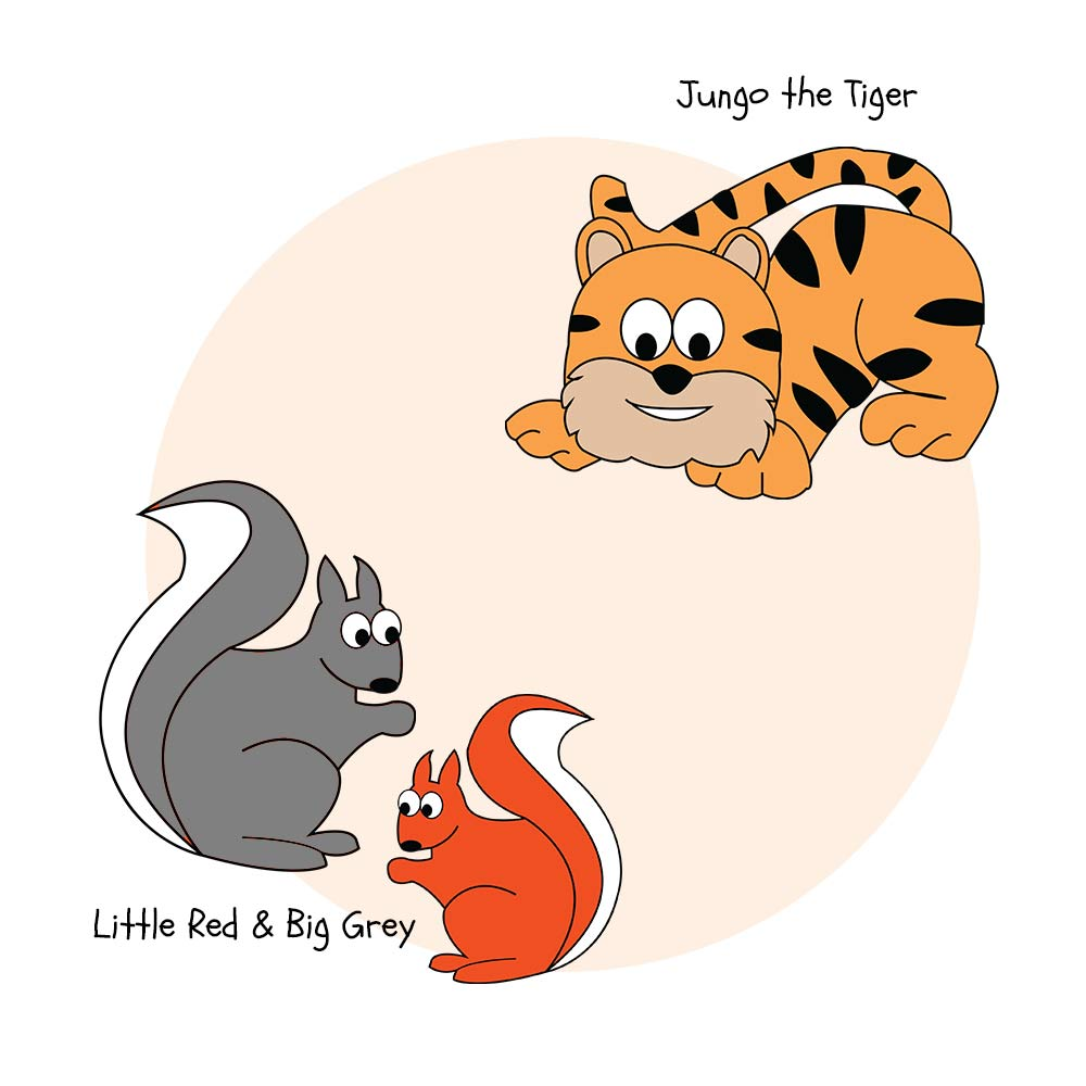 Squirrels-&-tigers-