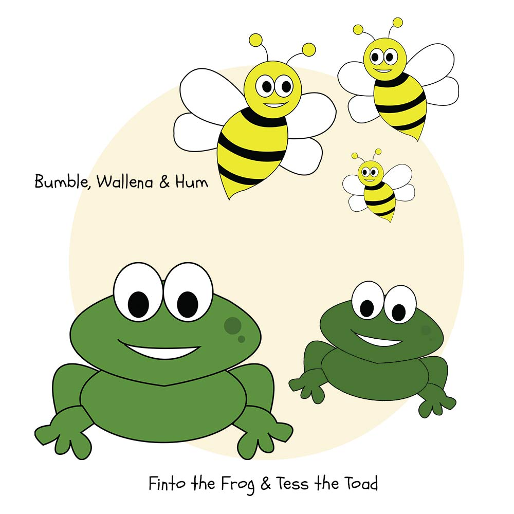 bees-frog